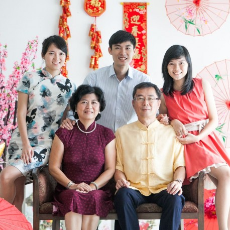 Chinese New Year Family Portrait (5pax)