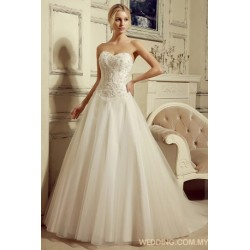 Tulle Ball Gown Skirt With Appliques Top