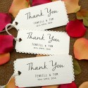 Personalize White Vintage Lace Wedding Favor / Thank You / Gift Tags with Thread ( 3 Designs )