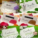 Personalized Spring & Summer Place Card ( 6 Designs )