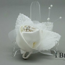 Satin Rose Boutonniere