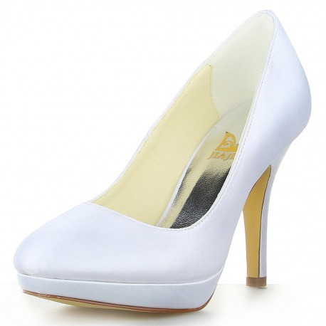 Basic Platform Wedding Shoes