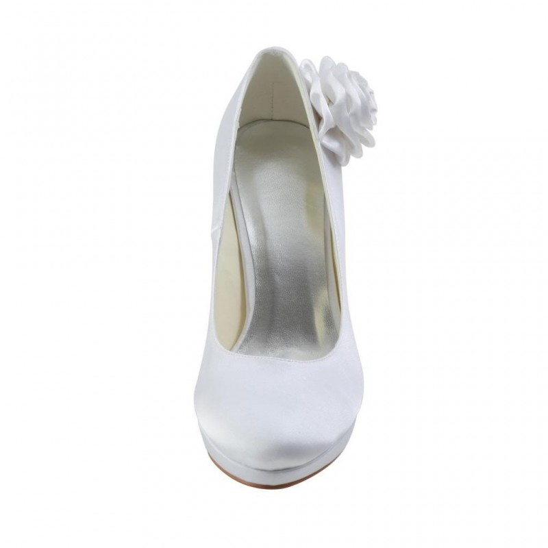 Side Flower Wedding Shoes
