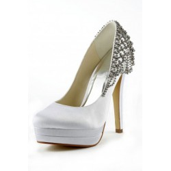 Jaci Platform Heel Wedding Shoes