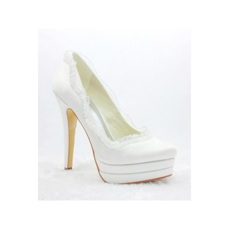 Tamay Platform Heel Wedding Shoes