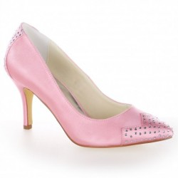 Emma Platform Heel Wedding Shoes