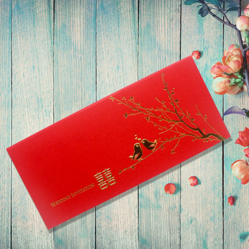 Chinese Wedding Card ( SPM85012R ) | Gifts & Cards