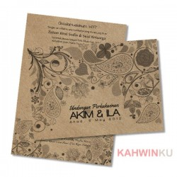 Kraft Paper Invitation Cards - 03
