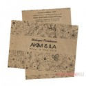 Kraft Paper Invitation Cards - 04