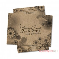Kraft Paper Invitation Cards - 09