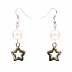 Little Star Russian Pearl Earring Crafted By Angie