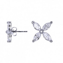 Kelvin Gems Premium Victorian Stud Earrings