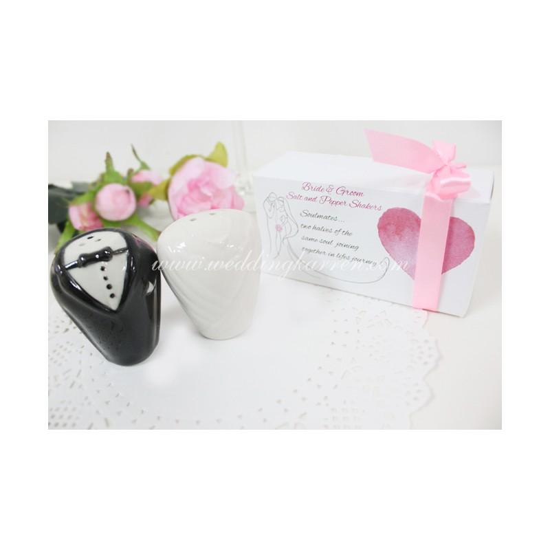 Wedding Gifts For Bride And Groom Philippines : Home > Gifts & Cards > Soulmates Unite Bride & Groom Salt ...
